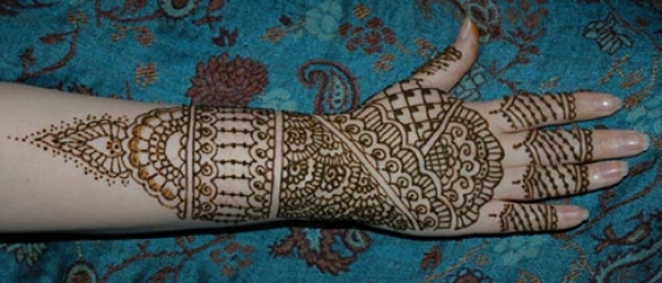 Henna tattoo design by Jamilah Zebarth