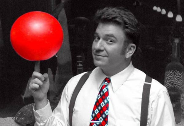 Juggler Andy Martello - Red Ball