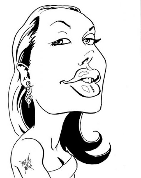 Jason Cheeseman-Meyer Party Caricature