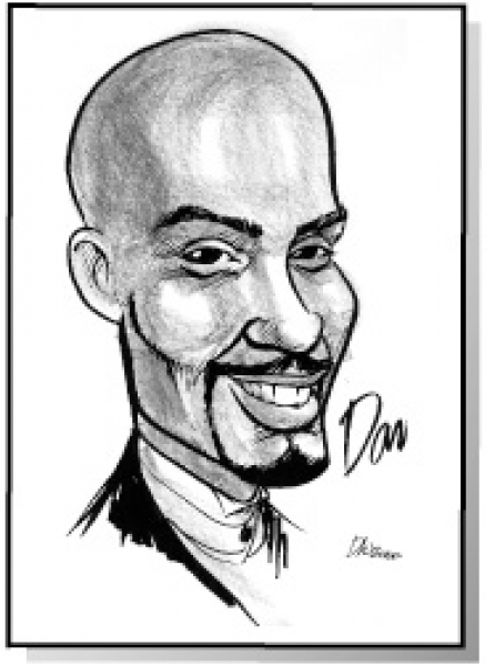 Dick Westbrook Party Caricature