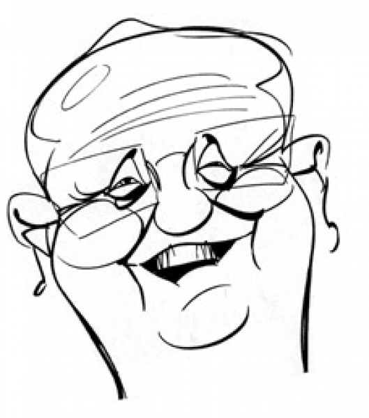 David Stanley Party Caricature