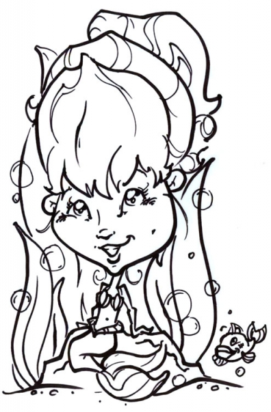 Carrie Snyder Party Caricature
