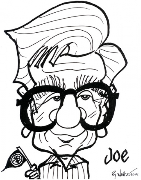 Walt Kaye Party Caricature