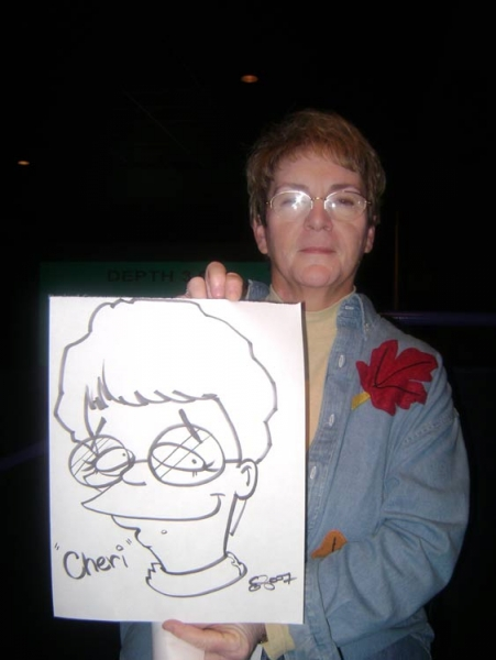 Eric Smith Party Caricature