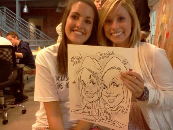 Jason Hay Party Caricature