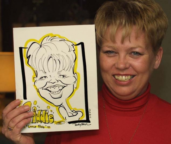 Trudy Nash Party Caricature