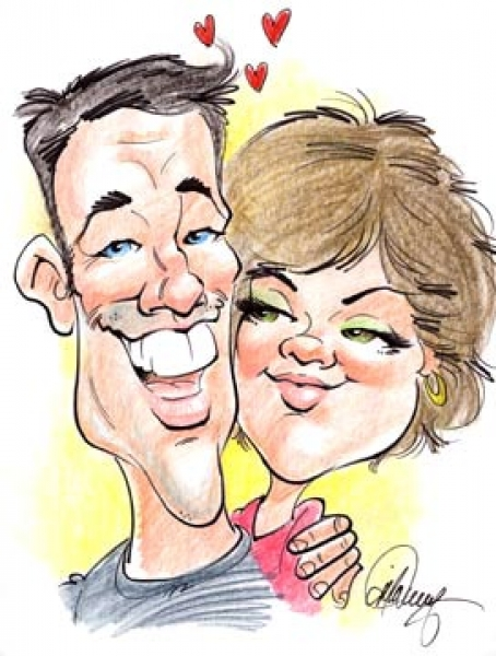 Jim McWeeney Party Caricature
