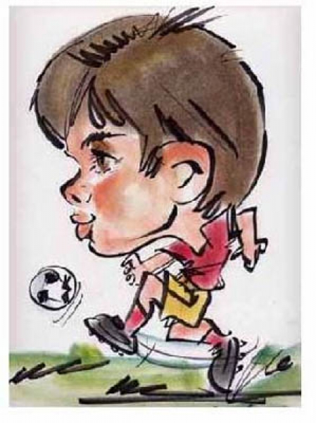 Sam Thong Party Caricature