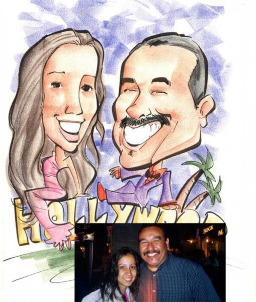 Party caricature by Tielman Cheaney