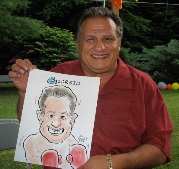 Joe Vissichelli Party Caricature
