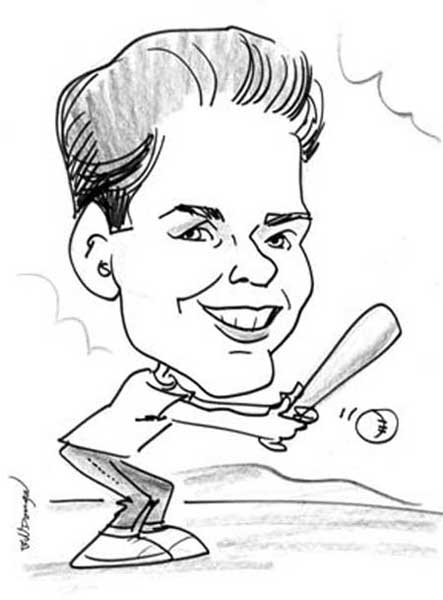 Bill Dougal Party Caricature