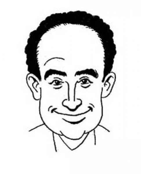 Dave McCoy Party Caricature