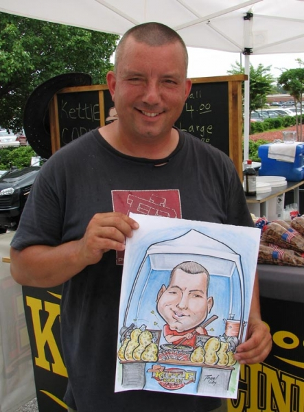 Timo Prosaulis Party Caricature