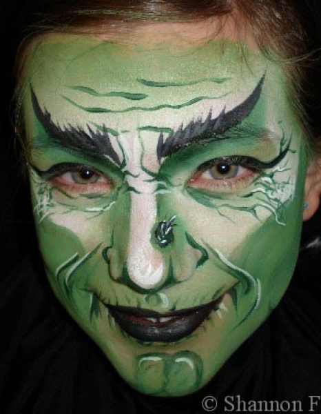 Face painting by Shannon Fennell