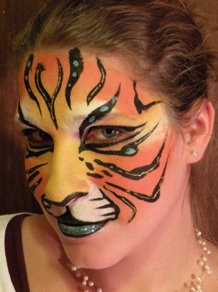 Face painting by Crystal Soveroski