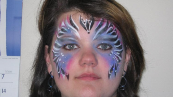 Face painting by Leslie Peters