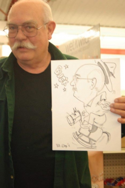 Bill Edge Party Caricature