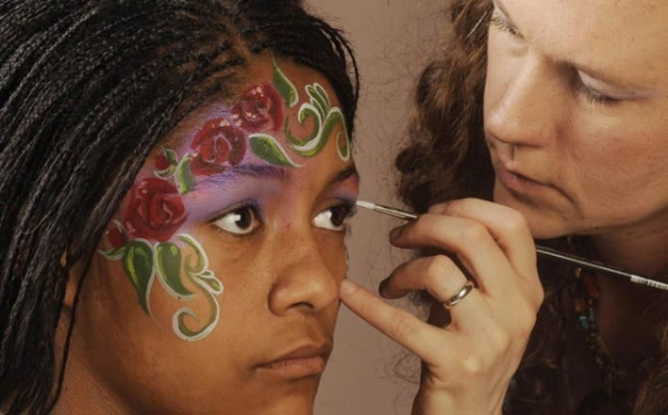 Face painting by Jessica Wheeler