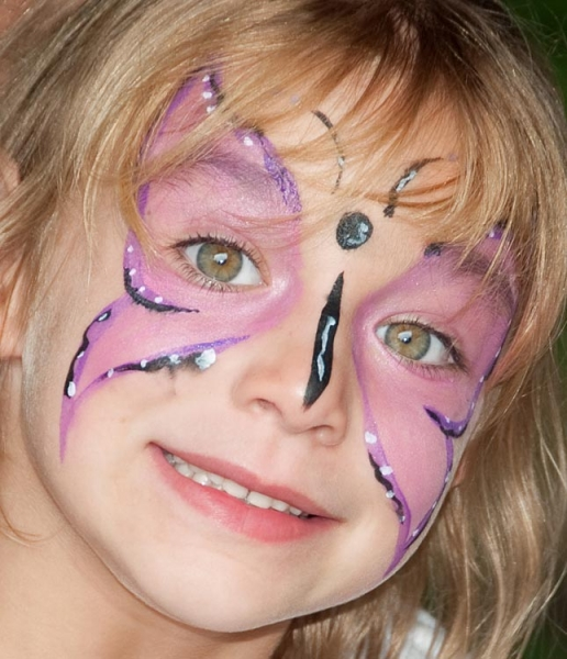 Face painting by Dixie Frank