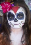 sugarskull facepainting