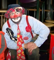 Lucky the Happy Hobo Clown