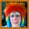 Rainbow Rosie the Face Painting Clown