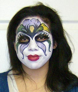 face paint by sophy t