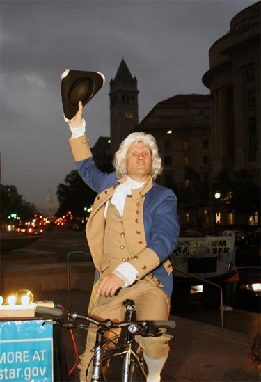 tim m as george washington