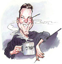 caricature artist ed steckley
